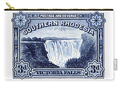 1932 Southern Rhodesia Victoria Falls Stamp Carry-all Pouch