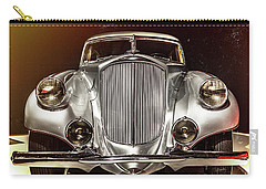 1933 Pierce-arrow Silver Arrow Front View Carry-all Pouch