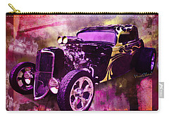 1934 Ford Coupe Hot Rod Acrylic Illustration Carry-all Pouch