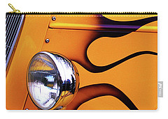 1934 Ford Custom Yellow Hot Rod Carry-all Pouch by Stephen Melia