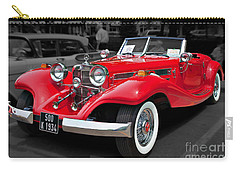 1934 Mercedes 500k Cabriolet Carry-all Pouch