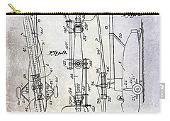 1935 Helicopter Patent  Carry-all Pouch