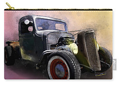 1936 Chevy Rat Rod Pickup Watercolour Carry-all Pouch