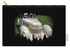 Carry-all Pouch featuring the photograph 1936 Cord Automobile by Thom Zehrfeld