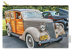 1936 Ford V8 Woody Station Wagon Carry-all Pouch