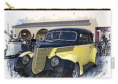 1937 Ford Deluxe Sedan_a2 Carry-all Pouch