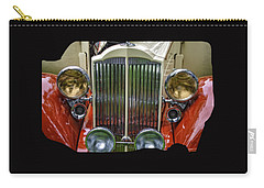 Carry-all Pouch featuring the photograph 1928 Classic Packard 443 Roadster by Thom Zehrfeld