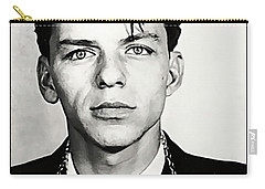 1938 Young Frank Sinatra Mugshot Carry-all Pouch