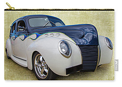 Carry-all Pouch featuring the photograph 1939 Ford by Keith Hawley