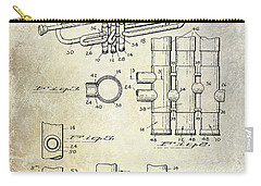 1939 Trumpet Patent Carry-all Pouch by Jon Neidert