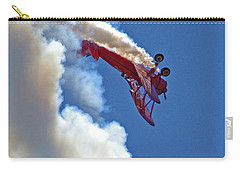 1940 Boeing Stearman Biplane Stunt 2 Carry-all Pouch