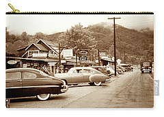 Carry-all Pouch featuring the photograph 1949 Cherokee North Carolina by Marilyn Hunt