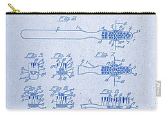 1941 Toothbrush Patent Artwork Blueprint 3 Carry-all Pouch