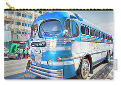 Carry-all Pouch featuring the photograph 1946 Greyhound by Theresa Tahara