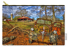1947 Dodge Dump Truck Country Scene Art Carry-all Pouch