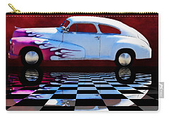 1947 Oldsmobile Reflect Carry-all Pouch by Suzanne Handel