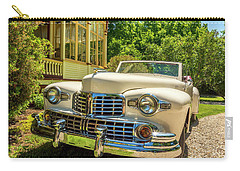 1948 Lincoln Convertible  Carry-all Pouch by Ken Morris