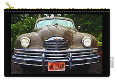 1948 Packard Super 8 Touring Sedan Carry-all Pouch by Thom Zehrfeld