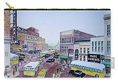 Rush Hour Portsmouth Ohio 1948 Carry-all Pouch