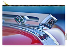 1949 Diamond T Truck Hood Ornament 3 Carry-all Pouch by Jill Reger