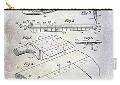 1949 Helicopter Patent Carry-all Pouch by Jon Neidert