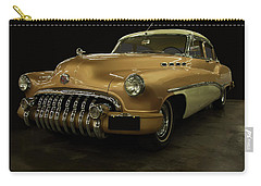 Carry-all Pouch featuring the photograph 1950 Buick Roadmaster by Chris Flees