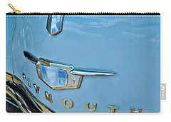 Carry-all Pouch featuring the photograph 1950 Plymouth Coupe by Linda Unger