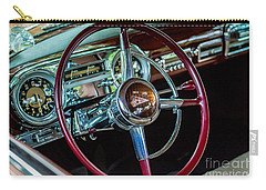 1951 Hudson Hornet Carry-all Pouch by M G Whittingham