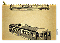 1951 Railway Car Patent Carry-all Pouch by Dan Sproul