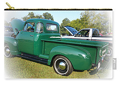 Carry-all Pouch featuring the photograph 1952 Chevrolet by Geraldine DeBoer