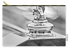 1952 Rolls-royce Silver Wraith Hood Ornament 2 Carry-all Pouch by Jill Reger