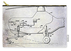 1953 Helicopter Patent Carry-all Pouch