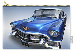 1955 Cadillac Blue Carry-all Pouch by Gill Billington