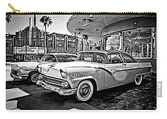 1955 Fairlane Crown Victoria Bw Carry-all Pouch