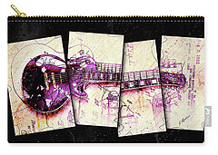 1955 Les Paul Custom Black Beauty V3 Carry-all Pouch