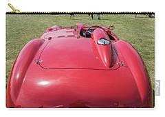 Carry-all Pouch featuring the photograph 1956 Ferrari 290mm - 2 by Randy Scherkenbach