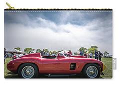 Carry-all Pouch featuring the photograph 1956 Ferrari 290mm by Randy Scherkenbach