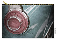 Carry-all Pouch featuring the photograph 1956 Ford Thunderbird Taillight Emblem -0382ac by Jill Reger