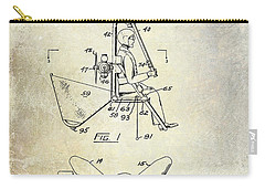1956 Helicopter Patent Carry-all Pouch