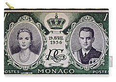 1956 Princess Grace Of Monaco Stamp II Carry-all Pouch by Bill Owen