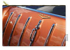 Carry-all Pouch featuring the photograph 1957 Chevrolet Nomad by Gordon Dean II