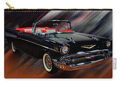 1957 Chevy Bel Air Convertible Digital Oil Carry-all Pouch