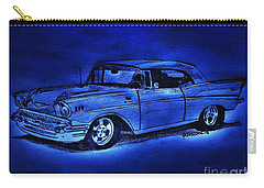 1957 Chevy Bel Air - Moonlight Cruisin  Carry-all Pouch