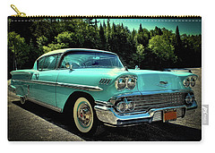 1958 Chevrolet Impala Carry-all Pouch by David Patterson