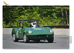 Carry-all Pouch featuring the photograph 1958 Elva Courier by Mike Martin