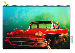 1958 Ford Ranchero Watercolour Carry-all Pouch