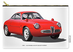 1960 Alfa Romeo Zagato Giulietta Sprint Carry-all Pouch