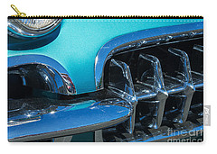 1960 Chevy Corvette Headlight And Grill Abstract Carry-all Pouch