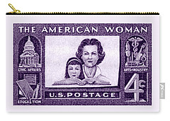 1960 The American Woman Carry-all Pouch
