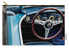 Carry-all Pouch featuring the photograph 1961 Austin Healey 3000 by M G Whittingham